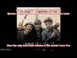 Kim Jong Kook with HaHa &amp Gary - What I Want To Say To You English Sub + Romanization +Hangul