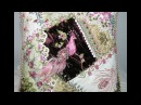 Декоративные диванные подушки в технике крейзи квилт