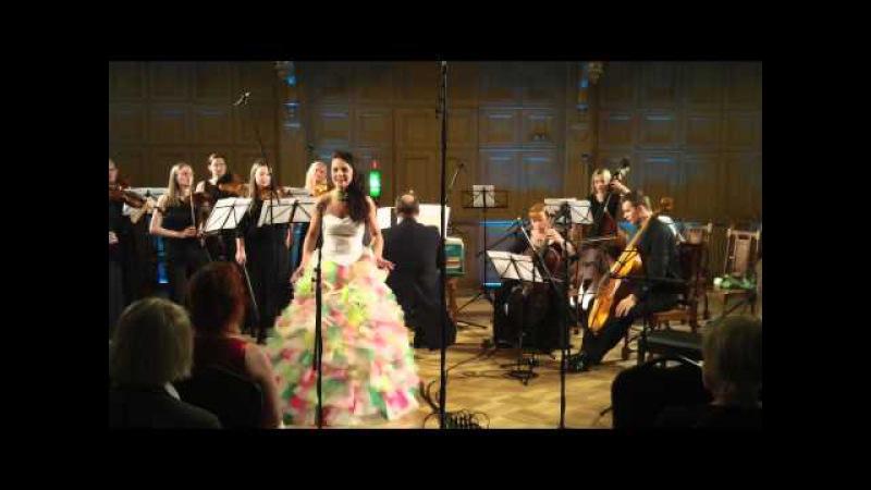 Handel - Atalanta's aria from Serse - Elina Shimkus