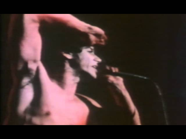 Iggy Pop Lust For Life Live 1977
