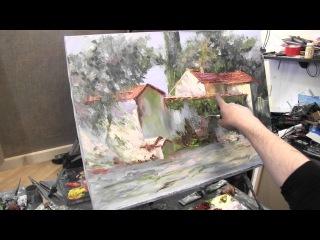 Итальянская деревня, курсы живописи и рисунка в Москве и Питере, рисование онлай...