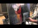 Уроки ИГОРЯ САХАРОВА КОРАБЛЬ маслом на холсте