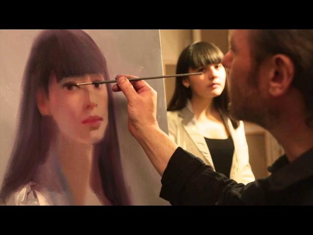 НОВИНКА! Бесплатно видеоурок Приемы написания портрета