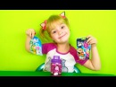Распаковка Игрушек с сюрпризами Монстер Хай Ферби Юху Unboxing toys Monster High Forby Yoohoo