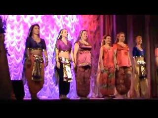 """Индийский танец. """"СУМАСШЕДШЕЕ СЕРДЦЕ"""" гр восточного танца ИСИДА"""