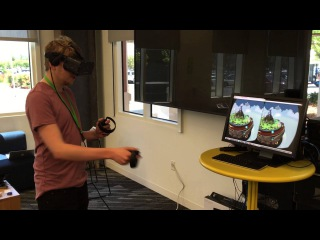 Oculus Touch controllers meet Skyworld in first test @OculusHQ