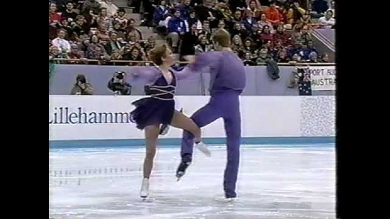 Jane Torvill Christopher Dean 1994 Lillehammer Olympics EX Bolero Ice Dancing