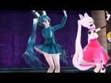 Той Бонни и Мангл танцуют MMD