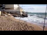 Морская рыбалка. Ловля камбалы (калкана) на спиннинг в Чёрном море. Ильичёвск 2015