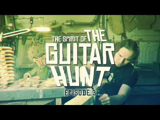 The Spirit of The Guitar Hunt - Episode 3/5: Mr. Miyagi, Fish Jaw Tremolo and the Blacksmith