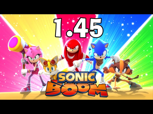 Sonic Boom / Соник Бум - 1.45 - Fire in a Crowded Workshop