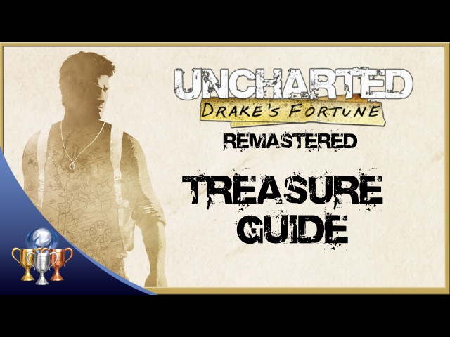 Uncharted Drakes Fortune Remastered - All 61 Treasure Collectibles (The Nathan Drake Collection)
