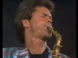 David Sanborn live concert in Copenhagen feat. Hiram Bullock (1986)
