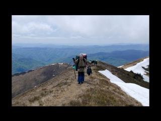 Поход по Карпатам в мае - Горганы
