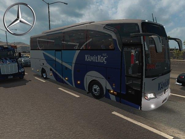 Mercedes Travego SHD 15 для American Truck Simulator