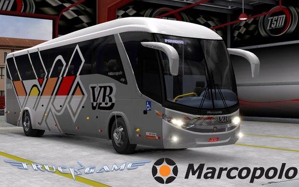 Marcopolo Paradiso G7 1200 4×2 для Euro Truck Simulator 2