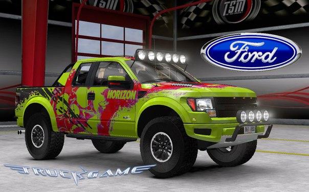 Ford F150 Raptor SVT для Euro Truck Simulator 2