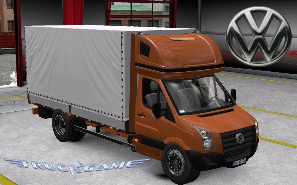 Volkswagen Crafter 2.5 TDI для Euro Truck Simulator 2