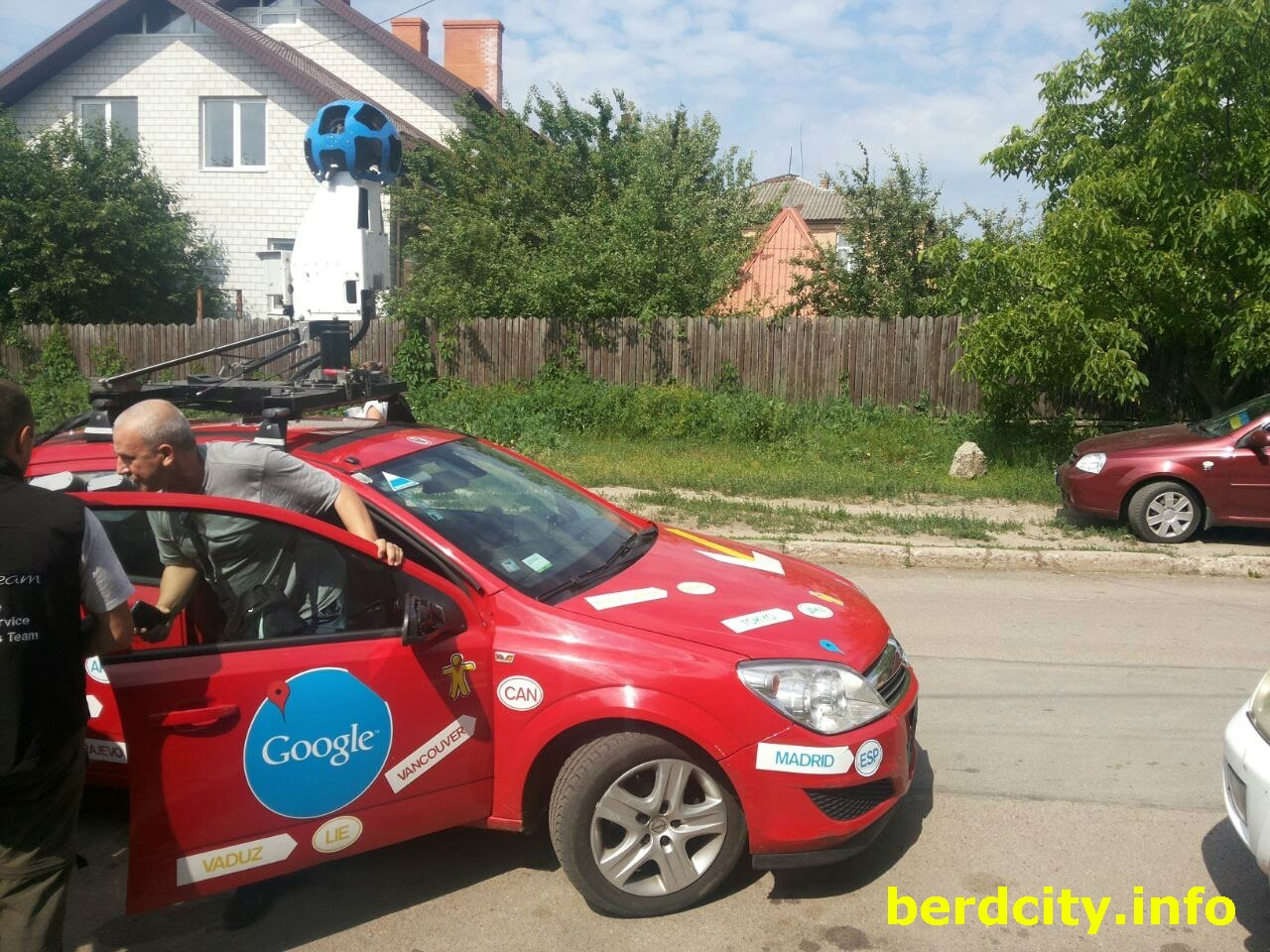 Google-мобіль в Бердичеві знімає панорами вулиць в рамках проекту Street View Maps. ФОТО