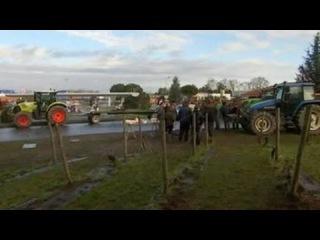 Обратная сторона санкций: французские фермеры ожесточенно протестуют