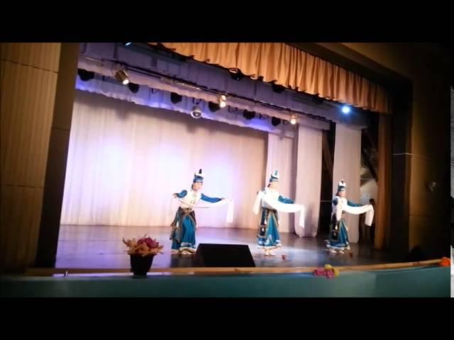 приветственный бурятский танец. Нарули