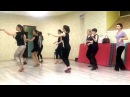 Соло латина урок - Начинающие 22.12.14 Группа K