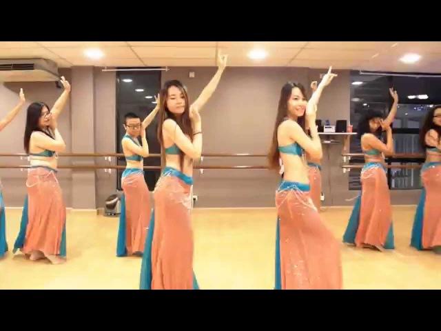 Belly Dance Class Habibi Ya Eini Choreography @ DancePot, KL