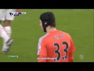 Арсенал 2 1 Манчестер Сити   Филигранный гол Яя Туре