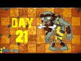 Plants vs. Zombies 2 - Jurassic Marsh Day 21