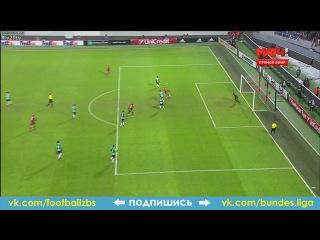 Гол: Миранчук Локомотив - Спортинг 26 ноября 2015 Лига Европы