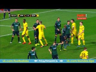 Обзор матча: Краснодар - Боруссия Дортмунд 1-0(Мамаев 2'). Лига Европы 26 ноября 2015