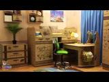 Серия детской мебели