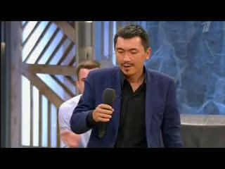 МС Сайлаубек в программе Пусть говорят 01.10.2015 - Аффтар жжот 8