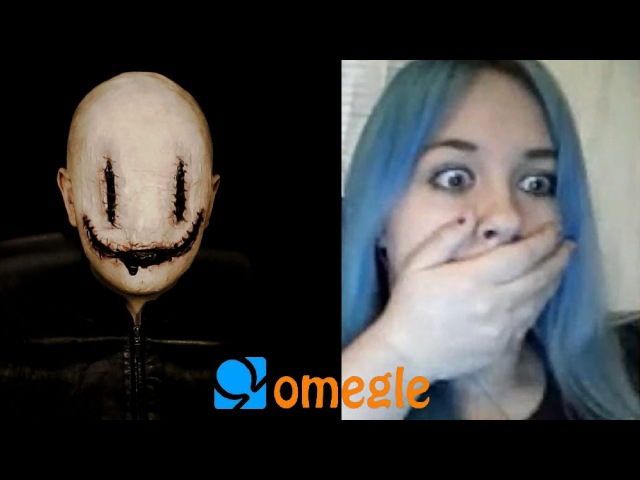 Smiley goes on Omegle