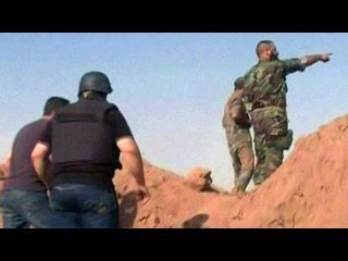 Сирийские войска при поддержке нашей авиации продолжают теснить боевиков