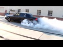 4 BURNOUTS in EVILVIC Cammed 2003 P71 Crown Victoria Exhaust Video