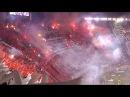 RECIBIMIENTO ESPECTACULAR - River Campéon vs Tigres - Copa Libertadores 2015