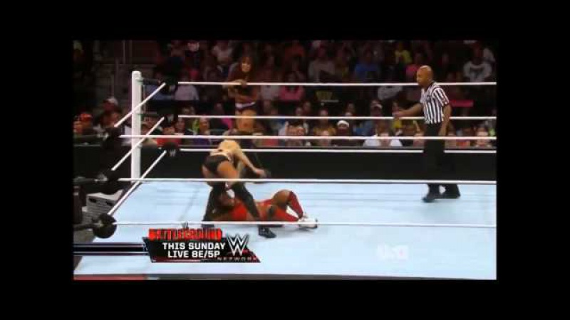 WWE Raw 2014 07 14 Nikki Bella vs Alicia Fox Cameron