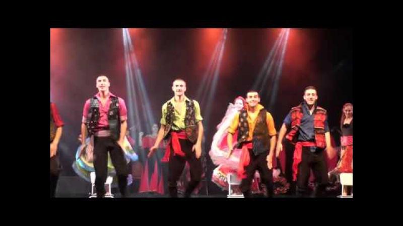 Цыганский ансамбль Русска рома и шоу Нешки робевой Мар дяньдя