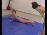 Vanda vs Clara  DWW  Female Wrestling  Clip III