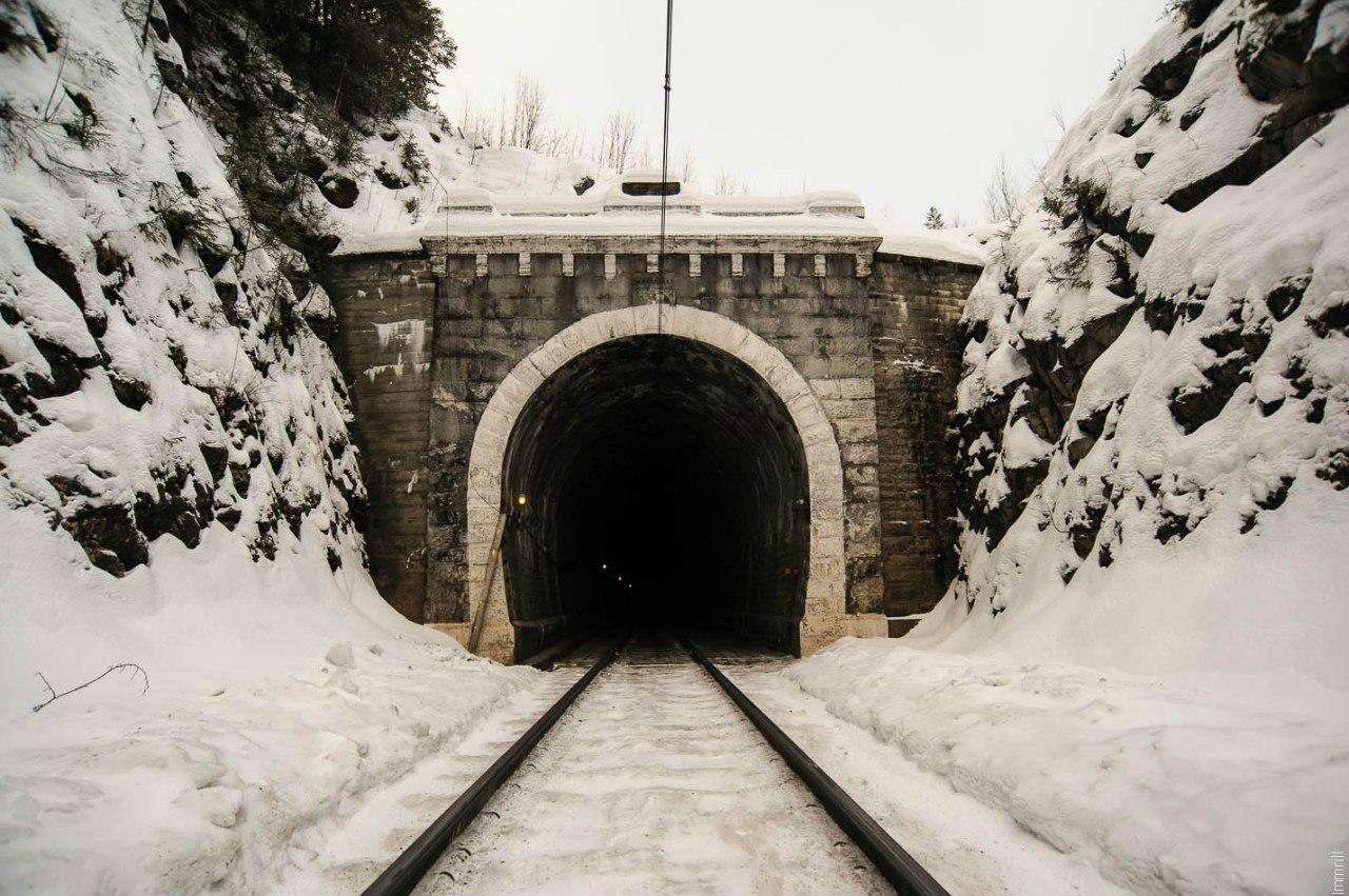 Первый на Урале железнодорожный тоннель