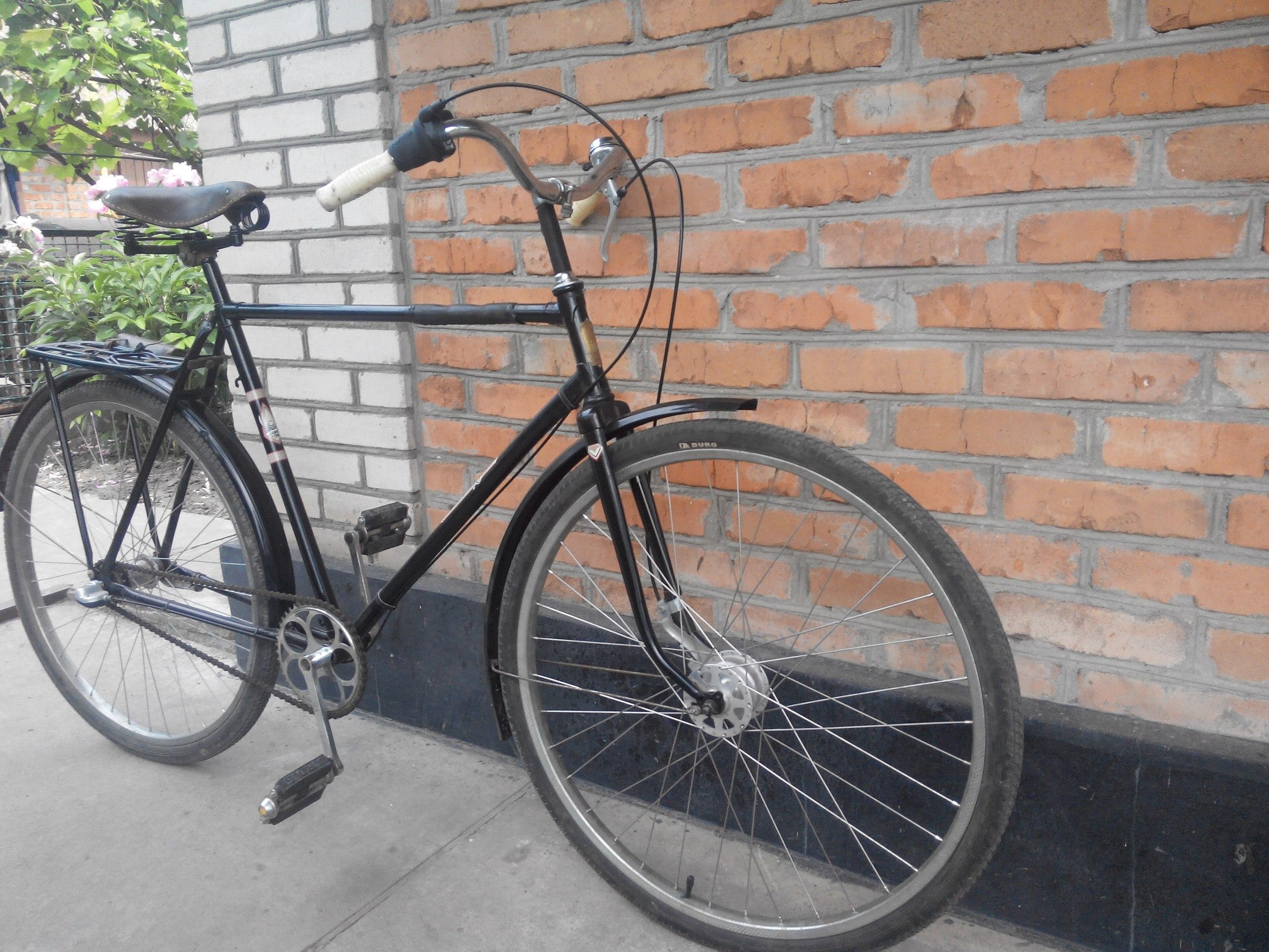 """Надважкий дорожній велосипед """"Іван Сірко"""""""