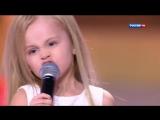 КУЗЯ из Универа Виталий Гогунский и дочка Новогодний парад звёзд 31 12 2014