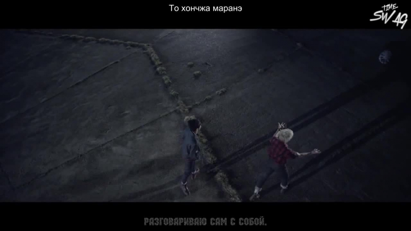  ST  BTS - 'I NEED U' MV (Original ver.) [рус.суб. кириллизация]