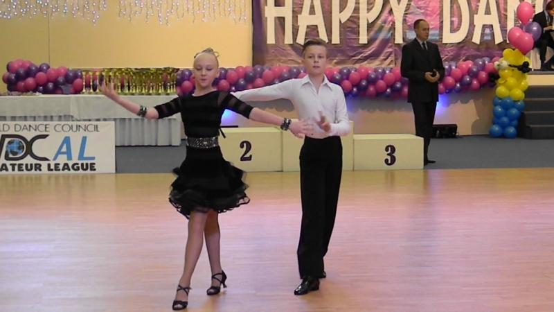 Happy Dance 08.11.2015г.Юниоры 1 Dкласс финал.
