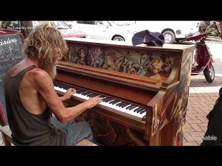 Homeless Florida man is playing piano on the streets, and hes a total natural - Mashable