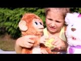 Смешливая обезьянка и Щенок Го Го FURREAL FRIENDS