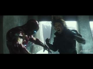 Первый Мститель: Противостояние с Человеком Пауком и Человеком Муравьём (фан-трейлер)