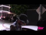 Adam Lambert at night club in Hollywood, 06.07.2015