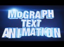 Cinema 4D MoGraph Tutorial - Letter-by-Letter 3D Text Animation using MoGraph and Effectors